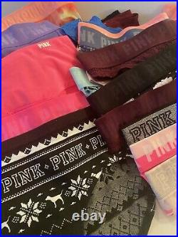 VS PINK Panty Lot 50 Panties SMALL Wholesale Resale Thong Cheeky Hipster NWT