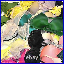 Victoria's Secret Lot of 100 Wholesale Bras Mixed Colors Random Resale New Vs