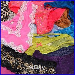 abbe11e57 Victoria s Secret Lot of 100 Wholesale Panties Random Thong Bikini Cheeky  Vs New