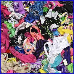 Victoria's Secret Panties Wholesale Lot of 200 Mixed Pink Vs Bikini Thong Cheeky