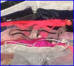 Victoria's Secret Panty Lot 25 Piece Size SMALL Wholesale Resale NWT VS & PINK