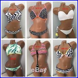 Victoria's Secret Wholesale Lot of 25 Set (50 PC) Swim Bikini Bottom Top Set