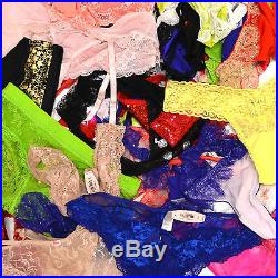 Victoria's Secret Wholesale Panties Lot of 100 Random Bikini Cheeky Thong Vs New