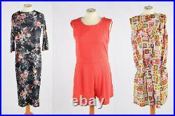 Vintage 70s 80s 90s Dress Summer Casual Floral Job Lot Wholesale x20 -Lot861