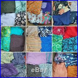 Vintage 70s 80s Wholesale Job Lot Bundle, skirts, dresses, tops Starter Depop XL