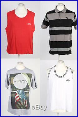 Vintage Branded T-shirts Shirt Tops Sports Retro Job Lot Wholesale x53-lot336