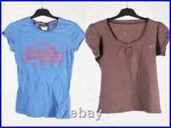 Vintage Designer Branded Shirts T-Shirts Job Lot Wholesale Women's x20 -Lot408