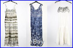 Vintage Dresses 80s 90s Patterned Coloured Women's Job Lot Wholesale x30 -Lot358