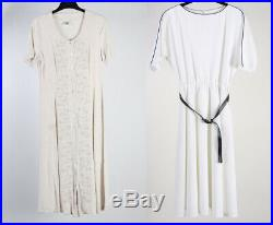 Vintage Dresses 90s Retro Floral Plain Printed Job Lot Wholesale x20 -Lot431