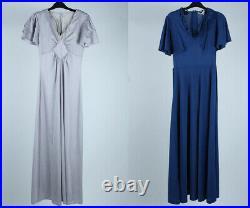 Vintage Dresses Retro 80s 90s Smart Floral Plain Patterned Wholesale x20 -Lot663