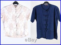 Vintage Kimono Top Dresses Shirts Smart Womens Job Lot Wholesale x20 -Lot429