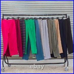 Vintage Ladies High Waist Trouser Wholesale Job Lot X 40