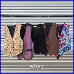 Vintage Ladies Waistcoats Jherkin Party Theme Wholesale Job Lot X 50