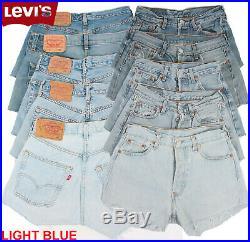 Vintage Levis High Waisted Shorts Retro Job Lot Grade A Wholesale X25 Pieces