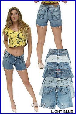 Vintage Levis Low Waisted Shorts Grade A Job Lot Wholesale X50 Pieces