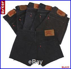 Vintage Levis Shorts High Waisted Grade A Job Lot Wholesale X20 Pieces