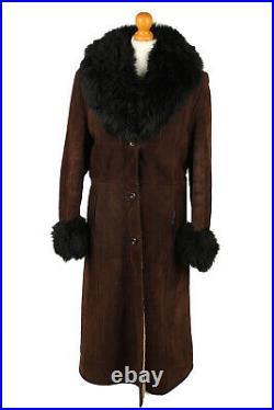 Vintage Sheepskin Coats Fur Collar Womens Warm Job Lot Wholesale x5 -Lot718