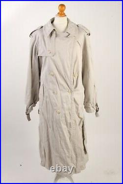 Vintage Trench Coats Womens Retro 90s Long Jacket Job Lot Wholesale x10 -Lot475