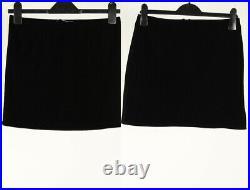 Vintage Velvet Skirt Long & Short Smart 80s 90s Job Lot Wholesale x20 -Lot602
