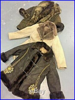 Vintage Wholesale Lot 70's Ladies LSF Sheepskin Coat