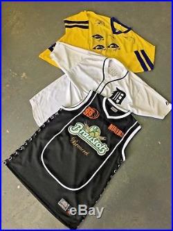 Vintage Wholesale Lot American NBA/NHL/NFL/ Non Team US Sport Jerseys Mix x 25