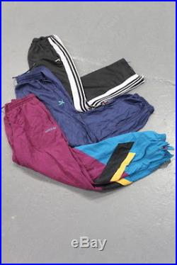 Vintage Wholesale Lot Branded Tracksuit Bottoms Pants Mix x 50
