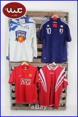Vintage Wholesale Lot Football Shirt Mix x 25