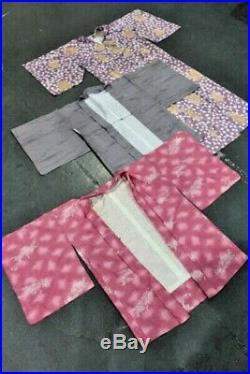 Vintage Wholesale Lot Japanese Kimono x 25