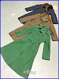 Vintage Wholesale Lot Ladies 70's Winter Coat