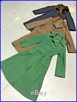 Vintage Wholesale Lot Ladies 70's Winter Coat x 25
