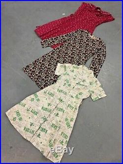 Vintage Wholesale Lot Ladies 80's 90's Summer Dress