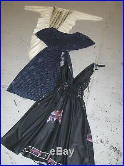 Vintage Wholesale Lot Ladies 80's 90s Winter Dress Mix x 50