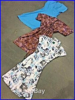 Vintage Wholesale Lot Ladies 80's Summer Dress Mix x 100
