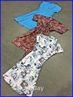 Vintage Wholesale Lot Ladies 80's Summer Dress Mix x 25