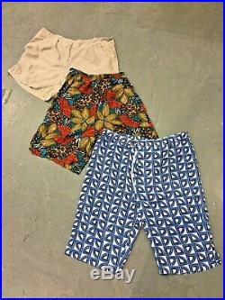 Vintage Wholesale Lot Ladies Floral Shorts Mix x 100