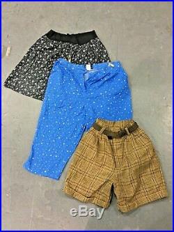 Vintage Wholesale Lot Ladies Floral Shorts Mix x 25