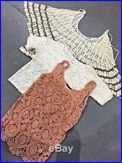 Vintage Wholesale Lot Ladies Lace Blouse x 25