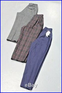 Vintage Wholesale Lot Ladies Pleated Trousers Pants Mix