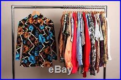 Vintage Wholesale Lot Ladies Retro 1970's Blouse Mix x 100