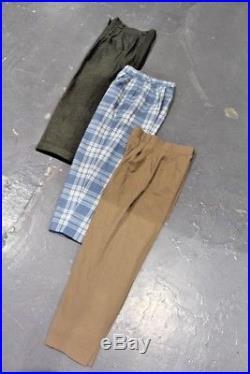 Vintage Wholesale Lot Ladies Women's Pleated Trousers Pants Mix x 50