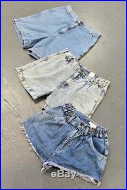 Vintage Wholesale Lot Levi's Denim Shorts x 50