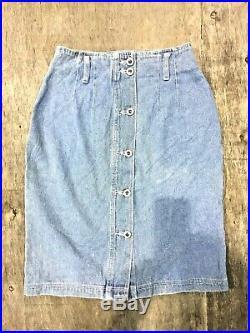 Vintage Wholesale Lot Women's Denim Skirt x 100