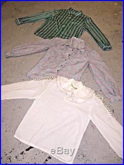 Vintage Wholesale Lot Women's Ladies 80's Blouse Mix x 50