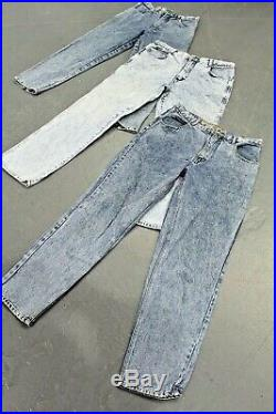Vintage Wholesale Lot Women's Madonna Mom High Waist Jeans