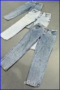 Vintage Wholesale Lot Women's Madonna Mom High Waist Jeans x 25