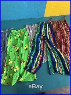 Vintage Wholesale Womens Summer Beach Trousers Boho Hippy Pants X 75 Pairs