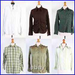 Vintage Women's 90s Blouses Tops Shirts Job Lot Wholesale x50- lot312