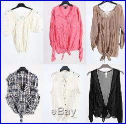 Vintage Women's 90s Blouses Tops Shirts Job Lot Wholesale x50- lot313