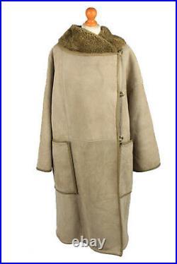 Vintage Womens Sheepskin Coat 90s Retro Wholesale Job Lot x5 -Lot752