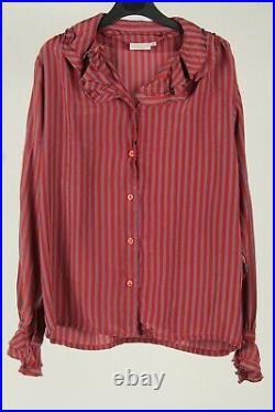 Vintage Womens Top Shirt Floral Plain 90s Retro Job Lot Wholesale x20 -Lot632